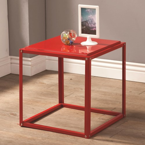 Coaster Accent Tables Contemporary Stackable Accent Table