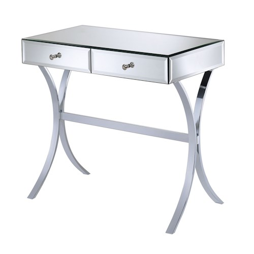 Coaster Accent Tables Mirror Console Table