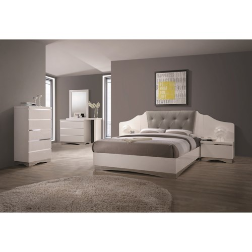 Coaster Alessandro King Bedroom Group