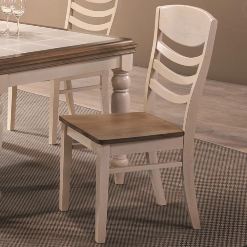 Coaster Allston Ladder Back Dining Side Chair