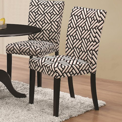 Coaster Allston Upholstered Dining Side Chair