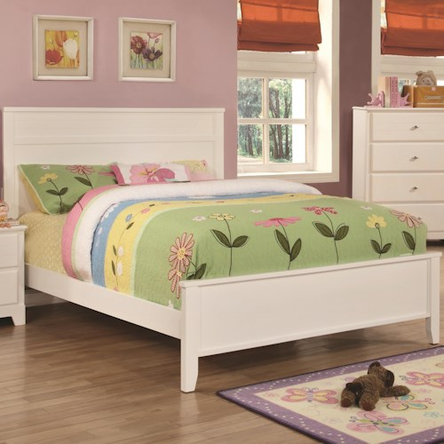Coaster Ashton Collection Twin Bed with Framing Details