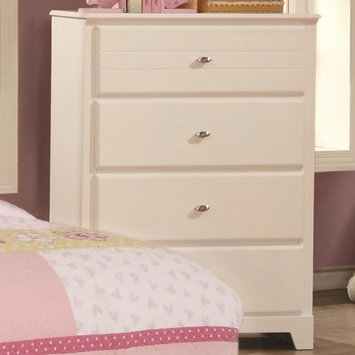 Coaster Ashton Collection Chest of Drawers with 4 Drawers