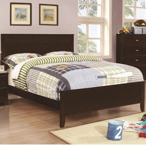 Coaster Ashton Collection Full Bed with Framing Details