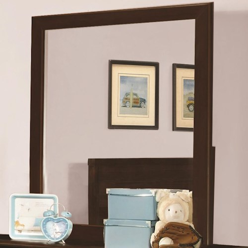 Coaster Ashton Collection Mirror with Transitional Design