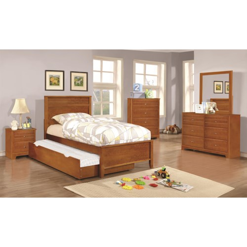 Coaster Ashton Collection Full Trundle Bedroom Group