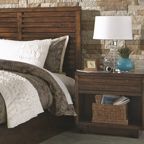 Coaster Avery Nightstand with Power Outlet