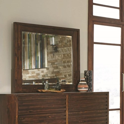 Coaster Avery Mirror with Wood Frame
