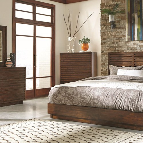 Coaster Avery Transitional Chest with Dovetail Drawers