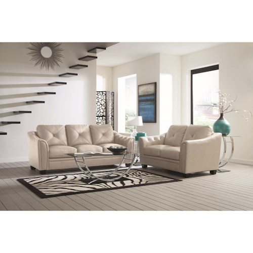 Coaster Avison Contemporary Living Room Group