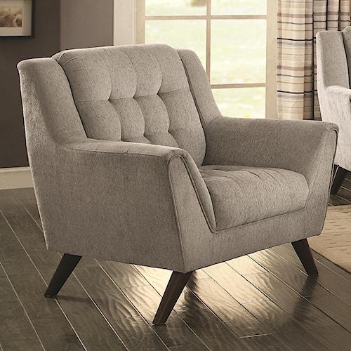 Coaster Baby Natalia Mid-Century Modern Chair
