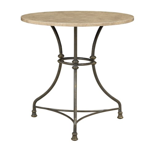 Coaster Bar Units and Bar Tables Counter Height Bistro Table with Metal Base