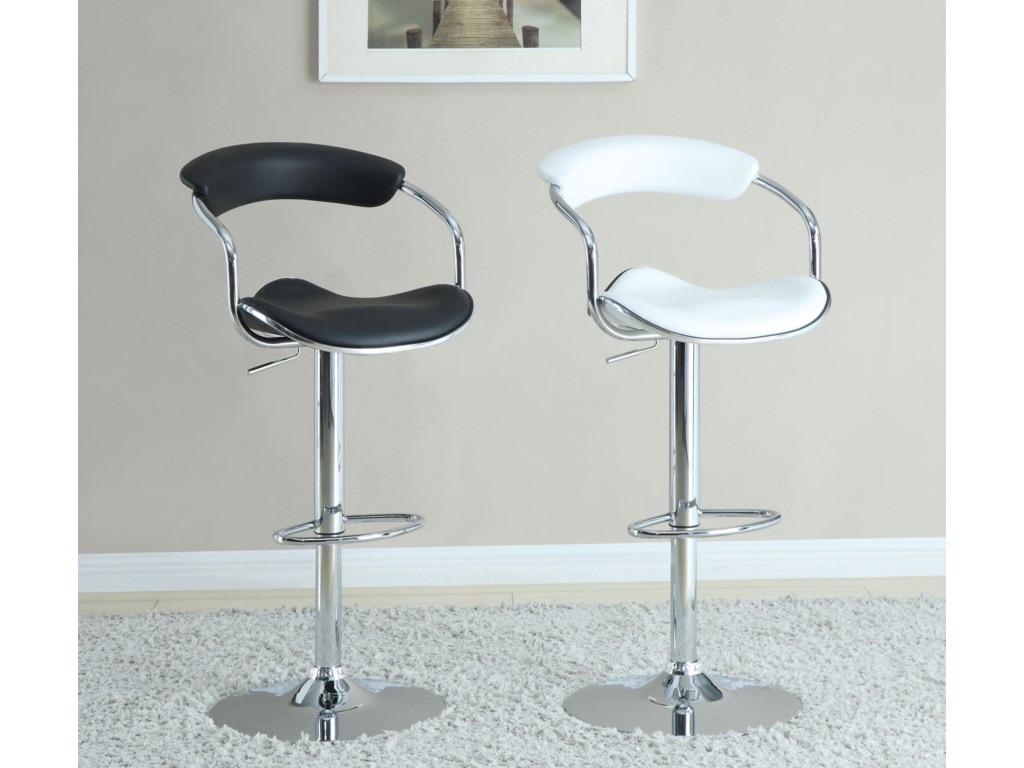 Shown with White Bar Stool