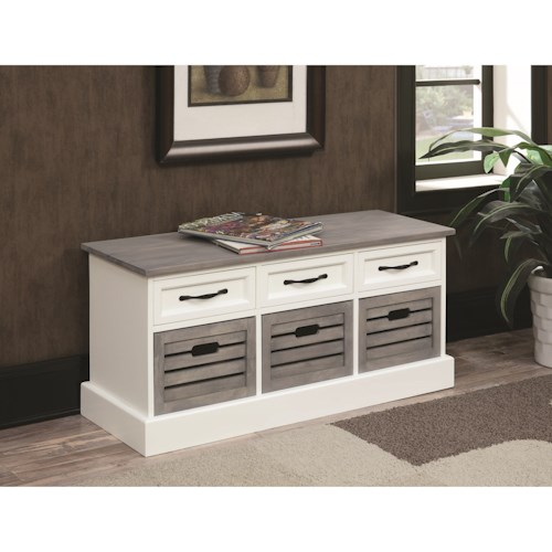 Coaster Benches Storage Bench Cabinet