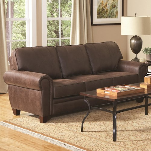 Coaster Bentley Elegant and Rustic Family Room Sofa