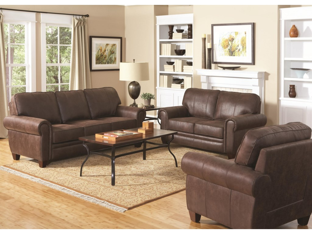 Shown with Coordinating Collection Loveseat and Chair