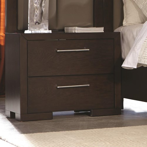 Coaster Berkshire Nightstand with Built-In Power Outlet