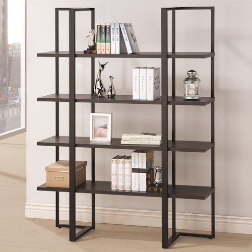 Coaster Bookcases Contemporary Display Bookcase