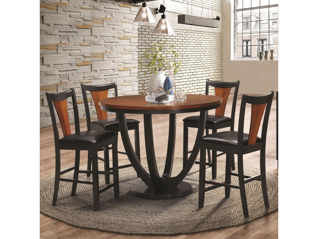 Shown with Counter Height Chairs and Server