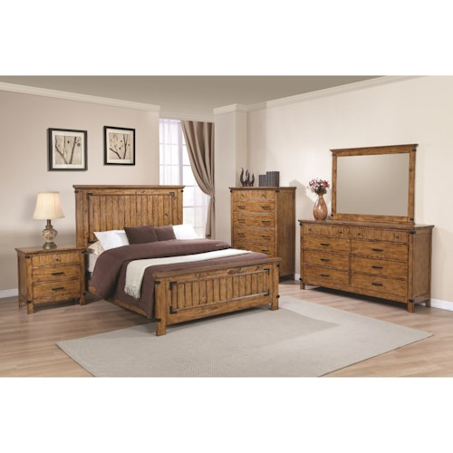 Coaster Brenner Queen Bedroom Group