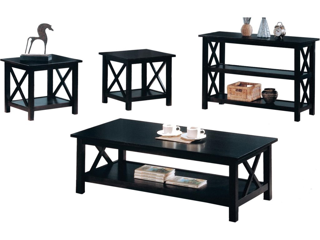 3 Piece Set Shown with Matching Sofa Table