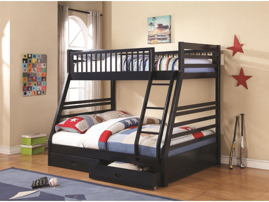 Shown in Navy Finish - Bed Shown May Not Represent Size Indicated