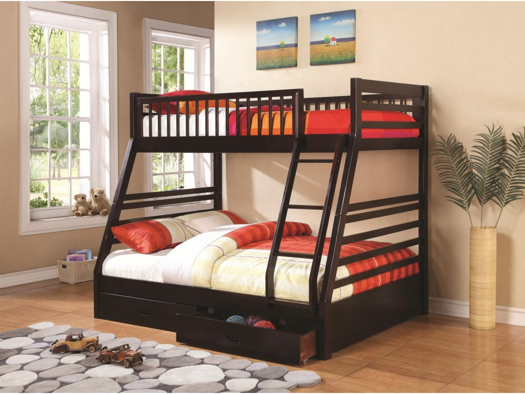 Shown with Cappuccino Finish - Bed Shown May Not Represent Size Indicated