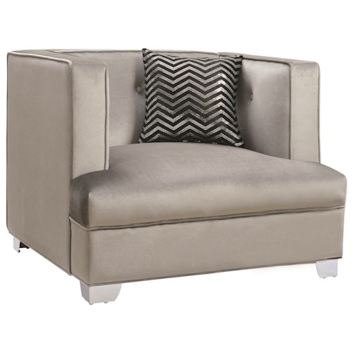 Coaster Caldwell Contemporary Upholstered Chair