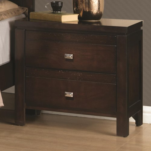 Coaster Cameron Night Stand with 2 Drawers