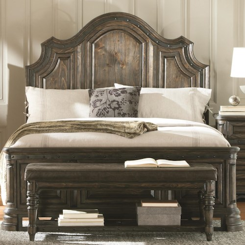 Coaster Carlsbad Queen Panel Bed with Framing