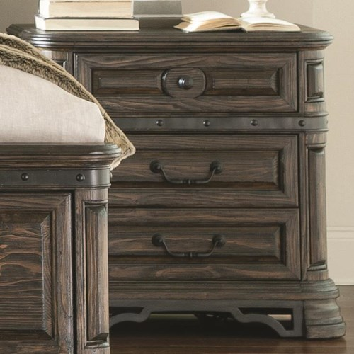 Coaster Carlsbad Night Stand with 3 Drawers