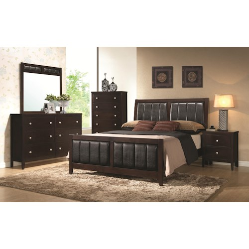 Coaster Carlton California King Bedroom Group