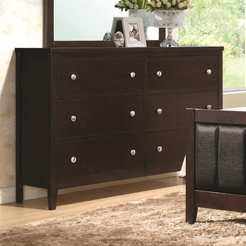 Coaster Carlton Dresser with 6 Drawers