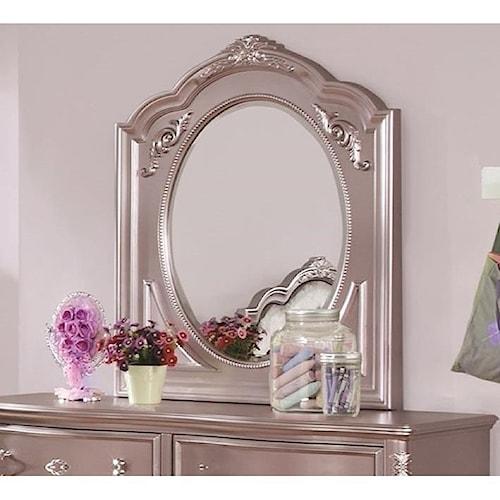 Coaster Caroline Framed Oval Mirror