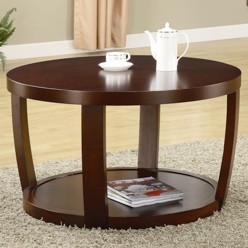 Coaster Cedar Crest Coffee Table