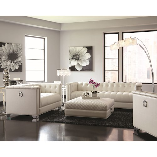 Coaster Chaviano Chic Living Room Group
