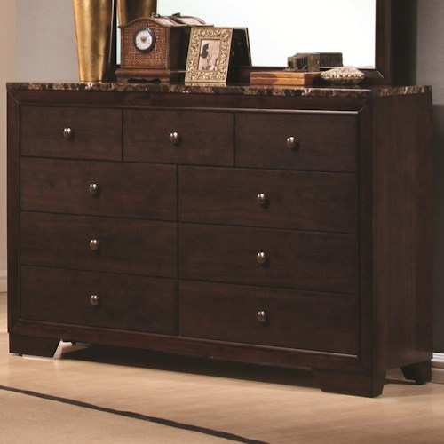 Coaster Conner Dresser with 9 Drawers