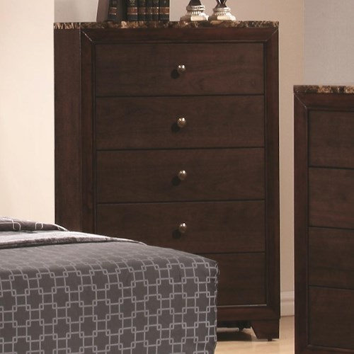 Coaster Conner Chest with 5 Drawers