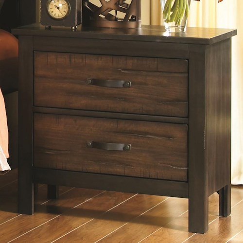 Coaster Conway 2 Drawer Night Stand