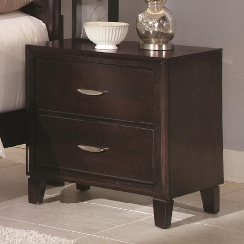 Coaster Coventry Transitional Two Drawer Night Stand