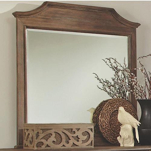 Coaster Dalgarno Mirror with Scooped Details