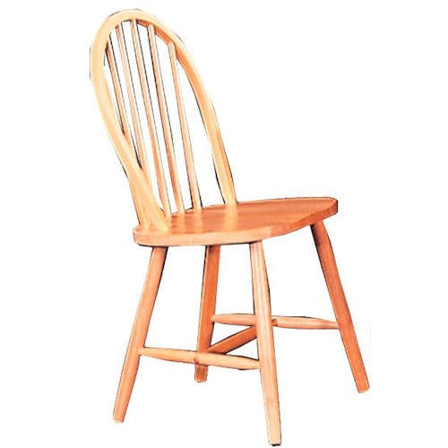 Coaster Damen Windsor Dining Side Chair
