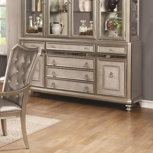 Coaster Danette - -181734809 6 Drawer Server with Two Doors
