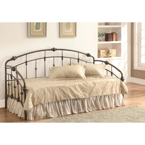 Coaster Daybeds by Coaster Casual Metal Daybed