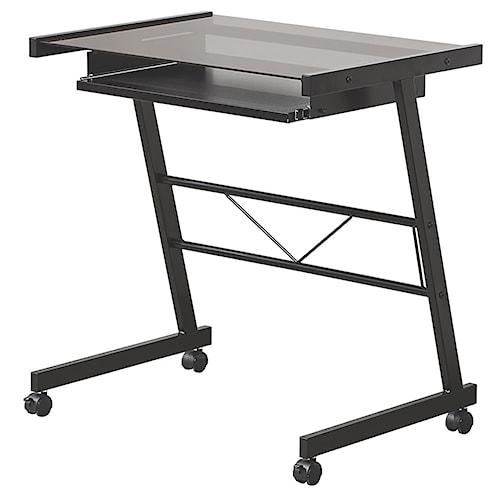 Coaster Desks Computer Desk w/ Keyboard Tray