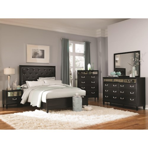 Coaster Devine King Bedroom Group
