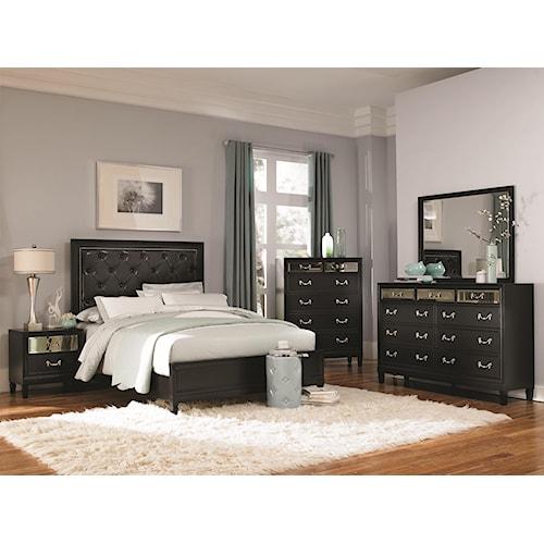 Coaster Devine Queen Bedroom Group