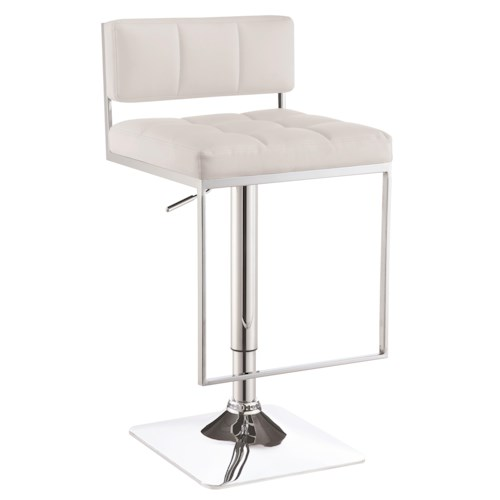 Coaster Dining Chairs and Bar Stools Adjustable Modern Bar Stool