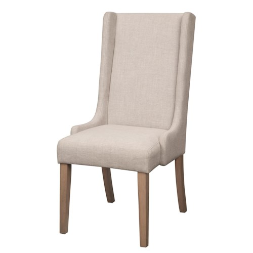 Coaster Dining Chairs and Bar Stools Upholstered Wingback Dining Chair