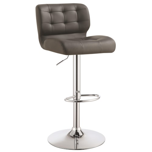 Coaster Dining Chairs and Bar Stools Upholstered Adjustable Bar Stool